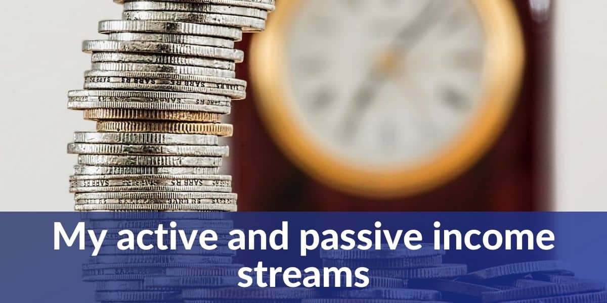 my active and passive income streams