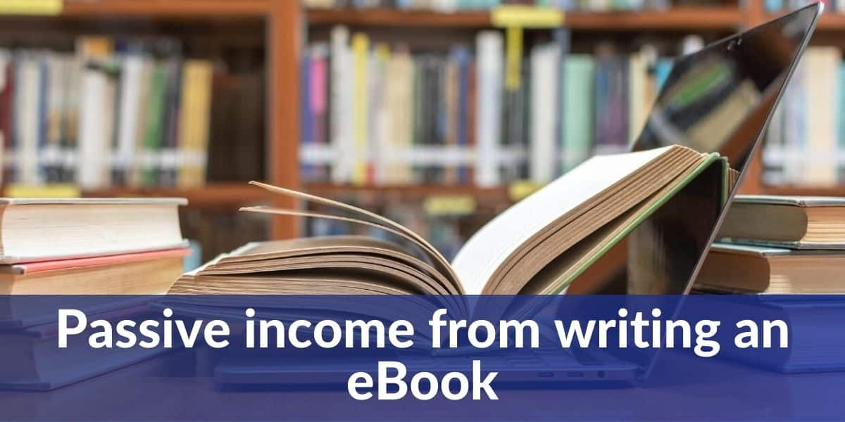 passive income from writing an eBook
