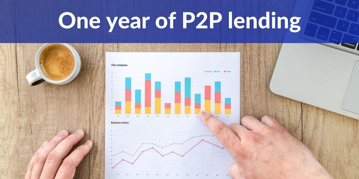 One year of P2P lending